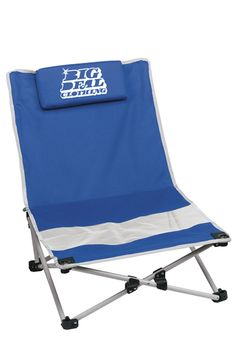 This foldable beach chair can help you relax by the pool or seaside!