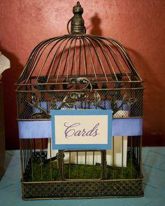 bird cage card box idea...yes, i think so!!!