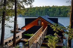 Lake Joseph Boathouse in New York 2