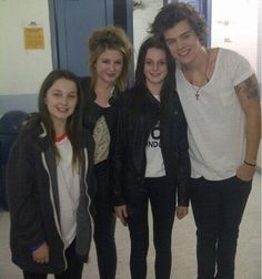 Harry with fans...