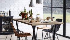 Inspiratieboost: rotan en riet in de eetkamer - Roomed