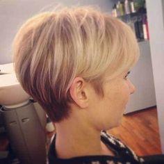 Short hair looks