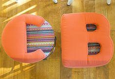 Upholster an Alphabet Stool - Creativebug