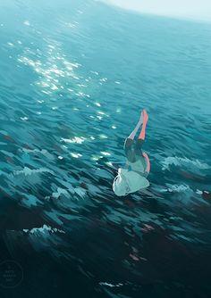 Illustrations by Sydney Australia-based Yan Qin Weng aka Loika. More images below.            Loika's Website Loika on Tumblr