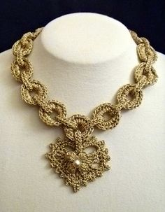 Ravelry: Charming Necklace pattern by Shelby Allaho