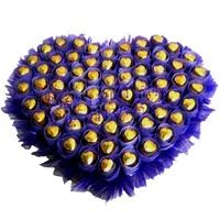 Ferrero Rocher Heart Shape Arrangement
