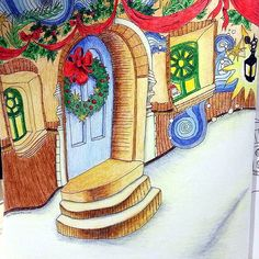Instagram media f00tl00se - #themagicalchristmas #lizziemarycullen #coloringforadults
