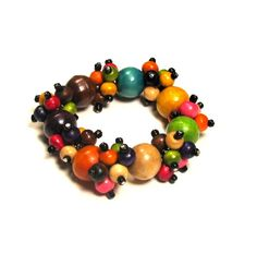 wooden beaded jewelry - Google Search
