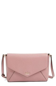 1390fbd8823a kate spade new york  spencer court - large monday  leather envelope crossbody  bag (Nordstrom Exclusive)
