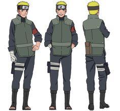 Naruto Uzumaki|Jonin (Collection) by iEnniDesign on DeviantArt