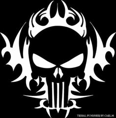 Stream The Boys Are Back In Town-Thin Lizzy by from desktop or your mobile device Punisher Logo, Punisher Skull, Punisher Tattoo, Skull Stencil, Skull Art, Camo Stencil, Harley Davidson Logo, Harley Davidson Motorcycles, Window Decals