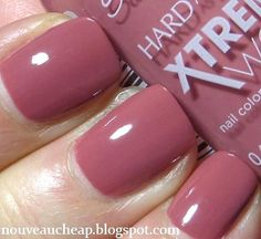NEW Sally Hansen Xtreme Wear in Mauve Over: Get Marsala-tized for $2.99!