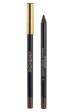 Women's Yves Saint Laurent 'Dessin du Regard Waterproof' Eye Pencil - 002 Patent Leather