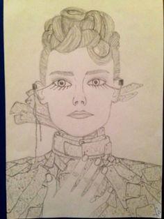 Hunger Games Fan Art / Catching Fire / Johanna
