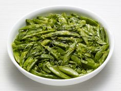 Get this all-star, easy-to-follow Lemony Snap Peas with Basil recipe from Food Network Kitchen