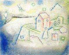 Country House in the North  Paul Klee, 1925