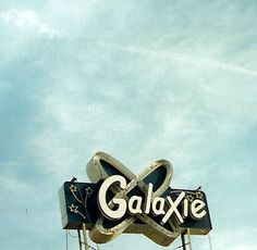 Galaxie neon sign