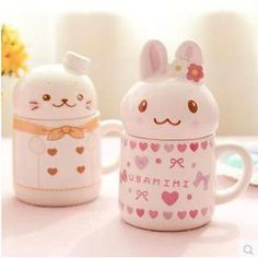 Buy 'Class 302 – Bunny / Seal Mug with Lid' with Free International Shipping at YesStyle.com. Browse and shop for thousands of Asian fashion items from China and more!