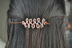 DIY: beaded hair sticks