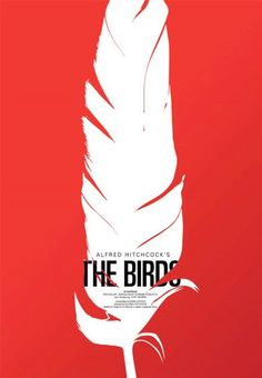 This is a great conceptual movie poster design. I enjoy the texture the feather creates. I also enjoy the bold and powerful colors used. They relay the overall tone of the movie.