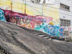 https://flic.kr/p/Dqd3L9 | P1160455x | Grafiti na Pedra do Sal, onde o samba nasceu.  No Morro da Conceição, Centro da Cidade, Rio de Janeiro, Brasil. Tenha um bonito dia.  ______________________________________________  Salt Stone  At Salt Stone (Pedra do Sal), where the Samba was born.  At Conceição Hill, Downtown, Rio de Janeiro, Brazil. Have a beautiful day.  _______________________________________________  Buy my photos at / Compre minhas fotos na Getty Images  To direct contact me…