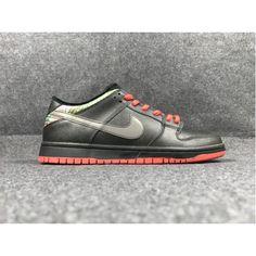 cheap for discount 997d6 7b69f Cheap Nike SB Dunk Low Pro 17 Men Shoes Black Red Sale
