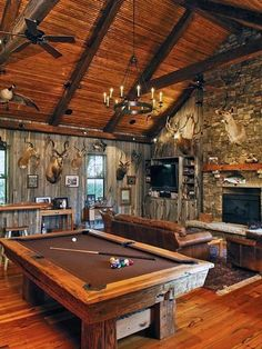 Blokes around the world share the best man caves from bars and arcades to an indoor climbing wall – Game Room İdeas 2020 Game Room Basement, Man Cave Basement, Game Room Bar, Rustic Basement, Man Cave Room, Man Cave Home Bar, Man Cave Garage, Car Garage, Mechanic Garage
