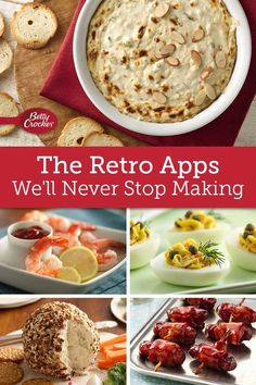 Throw a bash that would make grandma proud with these retro recipes that we love for more than just the nostalgia! Retro Recipes, Vintage Recipes, Cheese Appetizers, Appetizer Recipes, Stove Top Meatloaf, Family Meals, Family Recipes, Fruit Arrangements, Jamaican Recipes
