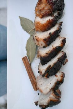 Apple cider brined pork belly. AIP. Would be great for a brunch tapas!