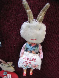 Julie arkell workshop - would love to use this as inspiration to let my kids make things with scraps on hand. This is adorable!