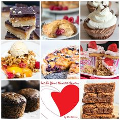 Indulge in 50+ deliriously delicious desserts from food lovers worldwide! #eattoyourheartscontent
