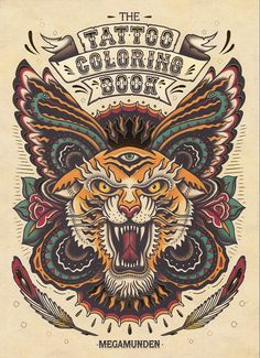 THE TATTOO COLORING BOOK i want this!!