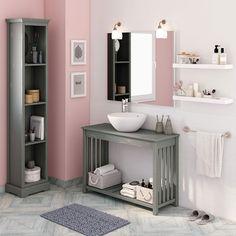50 Fotos de móveis para casa de banho pequena ~ Decoração e Ideias Merlin, New Homes, Vanity, Home Decor, Bathroom Ideas, Bathrooms, Small Bathrooms, Restroom Decoration, Bedroom Decor