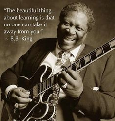 The King is Dead – BB King RIP 1925 – 2015