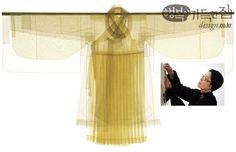 선+선+선, 서영희 한복, 김인자ㆍ정영자ㆍ조효순 주아사, 항라, 생고사, 은조사, 가로 260cm×세로 210cm