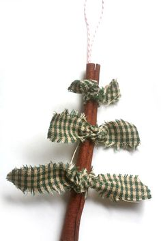 5-Minute Cinnamon Stick Tree Ornament : Factory Direct Craft Blog