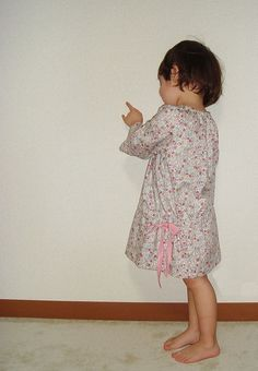 PDF Sewing Pattern  Smock dress for 3Y  Baby and by danslalune