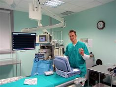 Sala operatoria dell'ospedale di Parma