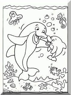 delphin malvorlage 09 | ausmalbilder | ausmalbilder kinder, malvorlagen und delphine
