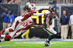 Aug 28, 2016; Houston, TX, USA; Arizona Cardinals defensive back D.J. Swearinger…