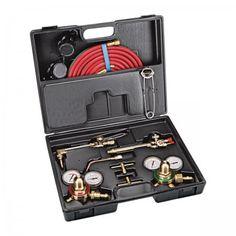 Portable Torch Kit with Oxygen and Acetylene Tanks Trailer Light Wiring, Spark Light, Brazing, Metal Artwork, Hand Tools, Tanks, Kit, Soldering, Shelled