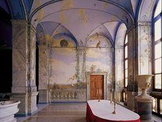 Summer Dining Room, Palazzo Chigi, Museo del Barocco, Ariccia (Roma),. More informations in http://www.palazzochigiariccia.it/english/index.htm