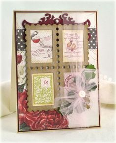 Debbie Olson Amazing Paper Grace Sept Kit - exclusive dies and stamps designed by Becca Feeken