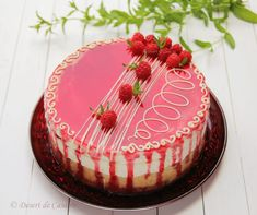 Mousse, Romanian Food, Romanian Recipes, Something Sweet, Cakes And More, Cheesecakes, Deserts, Birthday Cake, Sweets