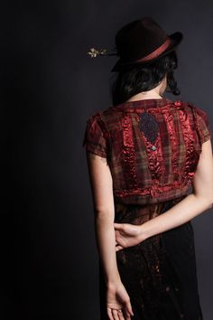Patchwork Red by Blacklotusclothing on Etsy, $55.00