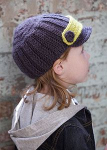 Gorgeous crochet cap. Can't wait to make one or ten ;o)