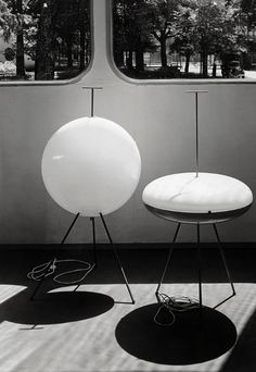 Gio Ponti, lamps for Arreddolucce, presented inside of Casa Feal, 1957.© Gio Ponti Archives, Milano