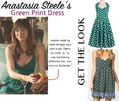 fifty shades anastasia green dress savannah georgia dakota