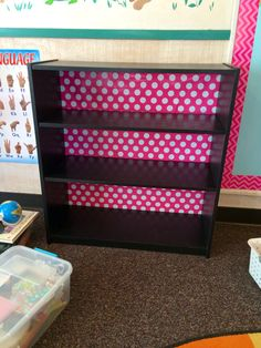 I got this book shelf from Walmart $17.94 and than the wrapping paper at Target $3 maybe? Love it!!!
