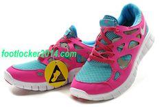 premium selection b64ad 04d89 Nike Free Run 2 Pink Bright Turquoise Womens Sneaker Air Jordan, Jordan  Shoes, Nike